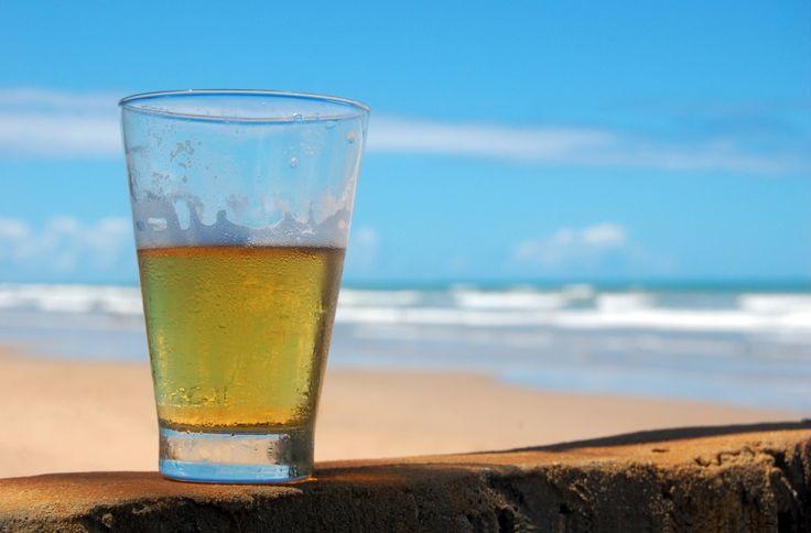 Beer on The Beach. Summer beer