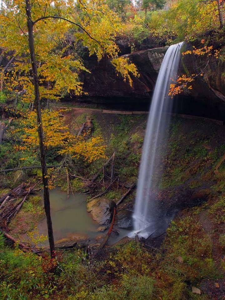 Broke Leg Falls in Menifee County, Kentucky, part of the ...
