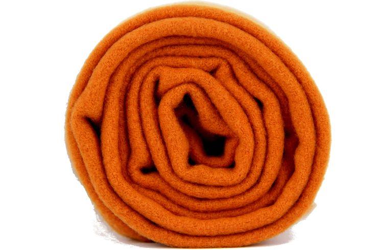 Écharpe #orange en laine corail pas cher