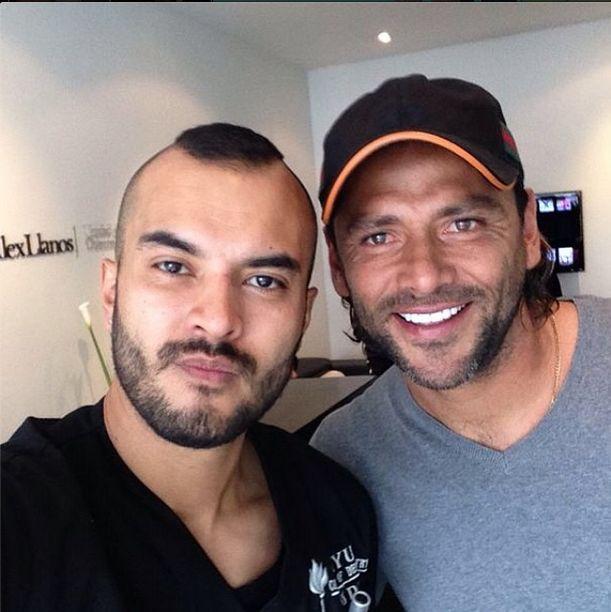 Visitando a mi odontologo @dr_alexllanos excelente.⚽️