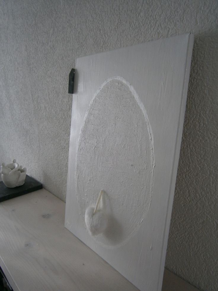 White Painting .Home made ....