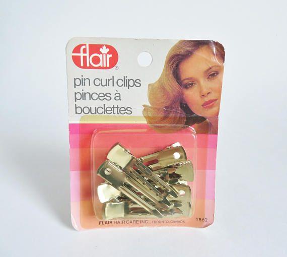 Vintage Hair Accessories Pin Curl Clips Hair Clip Pins Hair