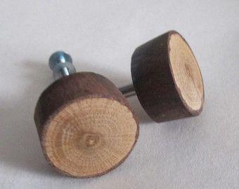 Perillas de cajón de madera cabaña de las perillas de madera