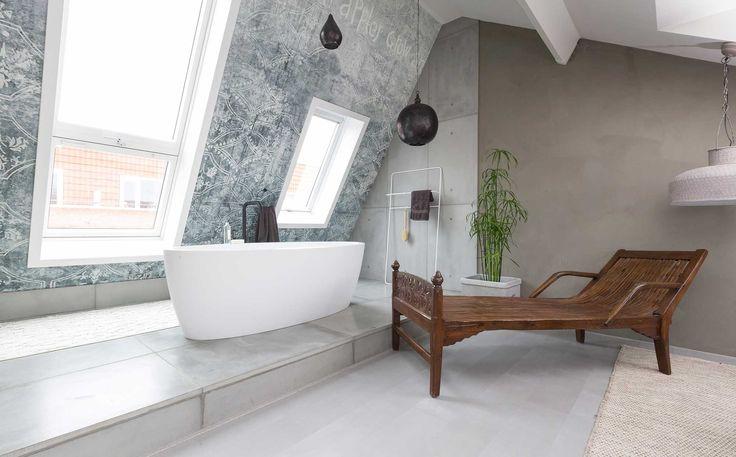 Badkamer bij Marloes en Nick uit aflevering 5, seizoen 1 | kijken en kopen | Make-over door: Frans Uyterlinde | Fotografie Barbara Kieboom