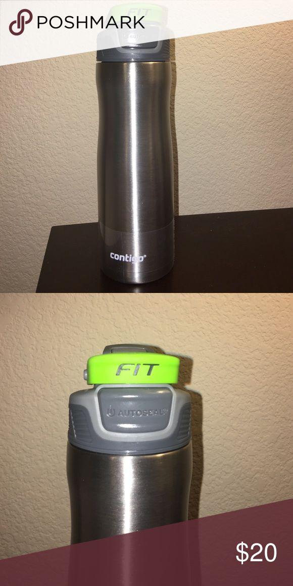 Contigo Autoseal Fit Trainer Water Bottles, 20oz - Contigo Autoseal Fit Trainer Water Bottles, 20oz - Stainless Steel contigo Other