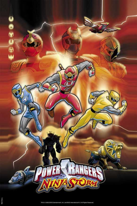 Power Rangers Ninja Storm 11x17 Movie Poster (2003)