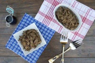 Crockpot Balsamic Beef