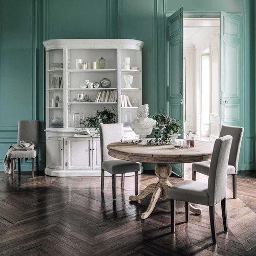 biblioth que en bois recycl maisons du monde. Black Bedroom Furniture Sets. Home Design Ideas