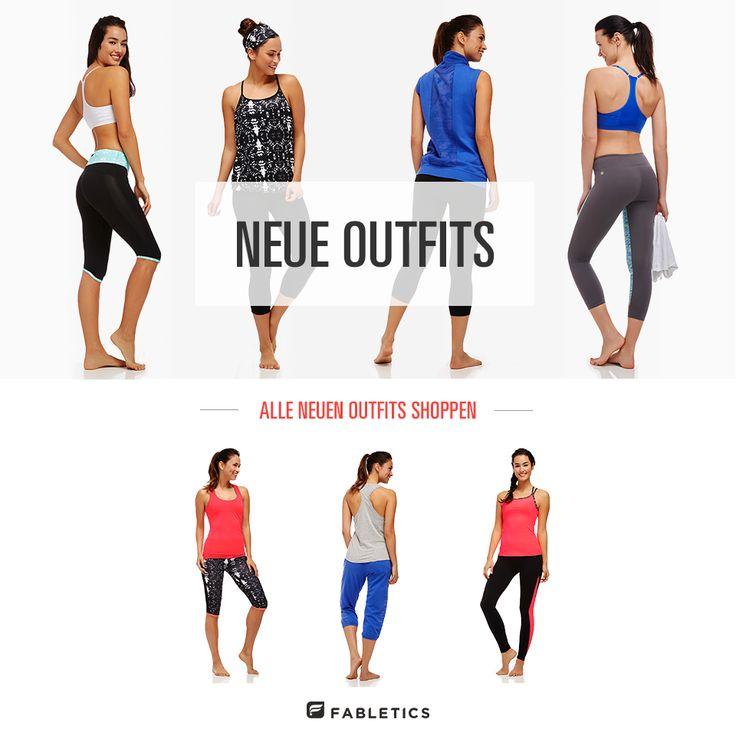 Es gibt neue Outfits auf http://www.fabletics.de/. Klickt euch durch! Es lohnt sich.