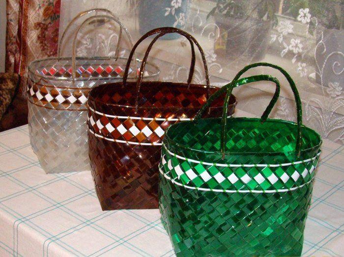 Плетение корзин из пластиковых бутылок своими руками: мастер класс для начинающих