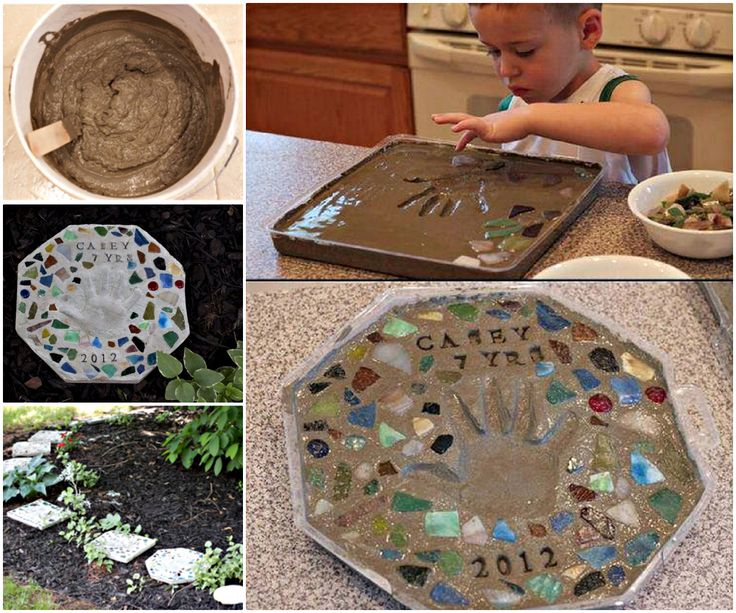 These Cute Cement Stepping Stones with handprint is so unique, it's definitely a best memories. What you will need: Cement Mold Rocks, lego, marble etc. for decoration Directions: Mix the cement with water and stir it up. Pour it into the mold from you kit and wait about 30 minutes. …