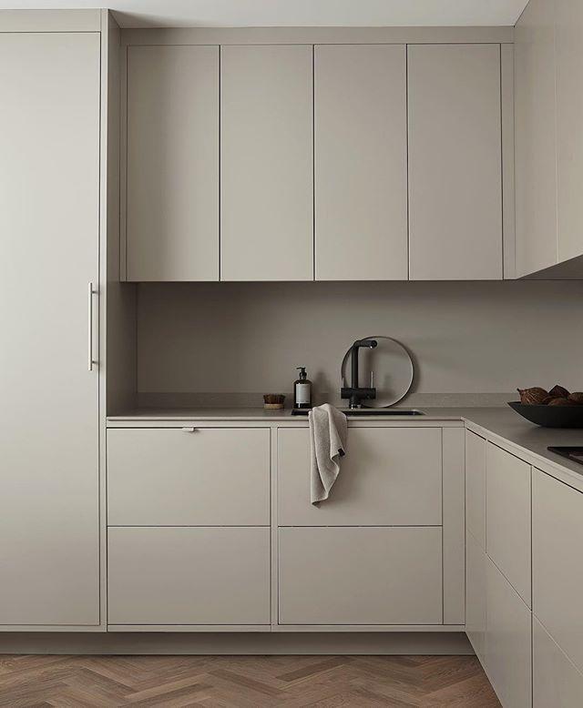Simply Beige Kitchen Beige Kitchen Minimalist Kitchen Design Kitchen Styling