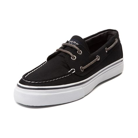 Shop for Mens Sperry Top-Sider Bahama Casual Shoe in Black at Journeys Shoes.