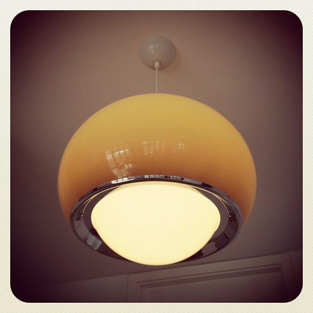 I would need to steal this lampshade from the apartment I stayed at in Berlin