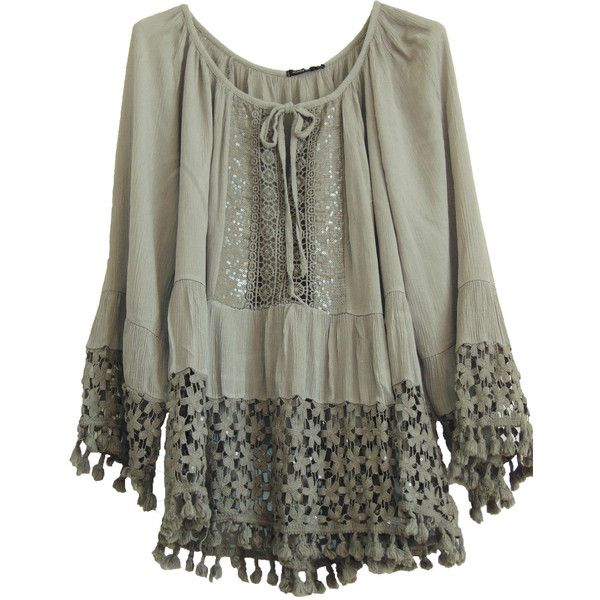 LADIES DRESS LACE CROCHET TOP ITALIAN LAGENLOOK QURIKY MONTAN PARIS... ❤ liked on Polyvore featuring dresses, lacy dress, crochet lace dress, macrame lace dress, crochet dress and lace dress