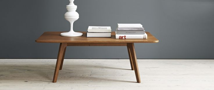 Larssen Scandinavian Coffee Table And Side Table Styled