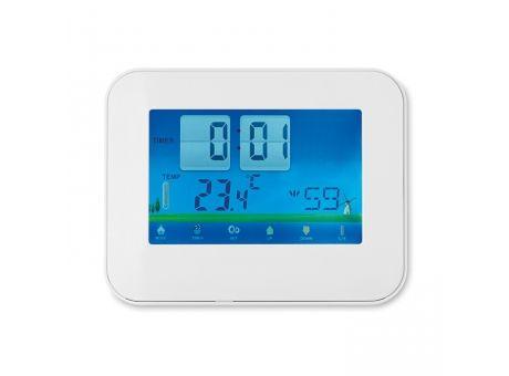 moderne #Wetterstation zum Vorhersagen des #Wetters: Egal ob #Sonne, #Regen, #Schnee oder #Sturm mit dem #Touchscreen sind Sie auf der sicheren Seite! Auch mit #Kalender, #Timer und #Alarm Funktionen!