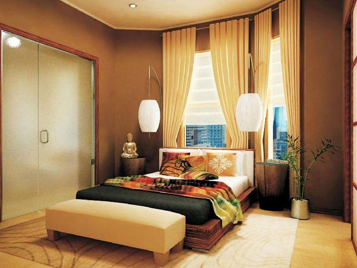 Camera da letto in stile zen n.25