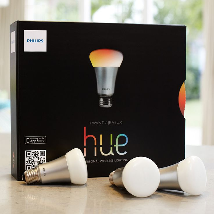 Philips Hue - The world's smartest LED lightbulb with a range of 16 million colors and 90 shades of white