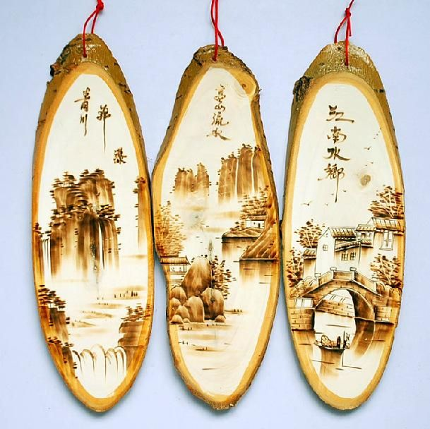 Aspen Pyrography Wall Painting Set / Creative Pastoral Home Decorative Wall Fire Heat Transfer / Pure Hand Painted Gift From Xwt5241, $55.3 | Dhgate.Com