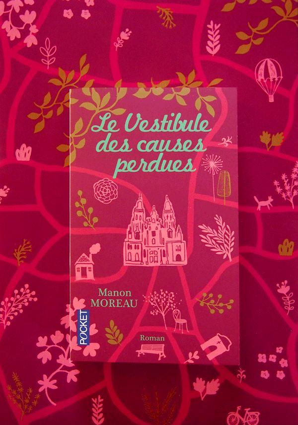 Le Vestibule des causes perdues - M.Moreau - édition Pocket couv ©emilie capman