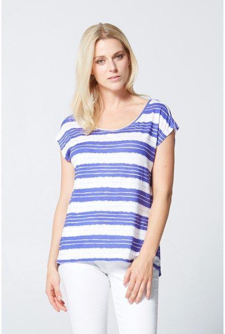 Shop for Tie Dye Stripe Tee - SALE - Max Shop