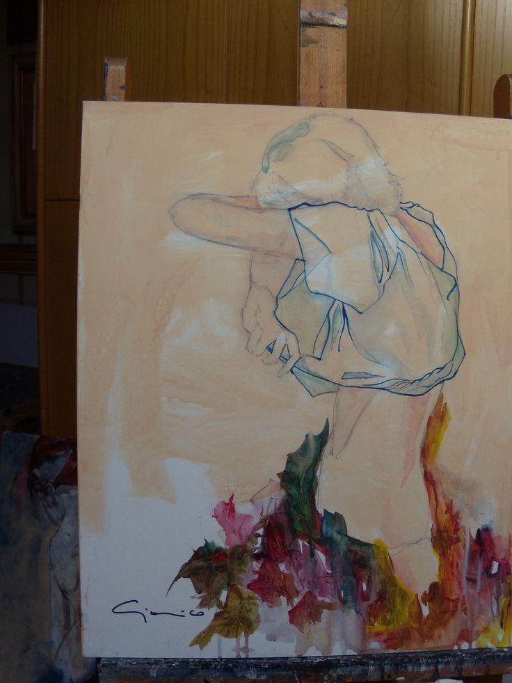 quercia si spoglia tra le braccia di ottobre ma non e' amore ...haiku: flavia rolli