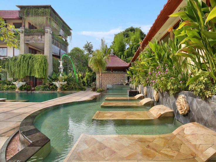 A relaxing Balinese getaway awaits guests at The Grand Bali in Nusa Dua, 15 minutes' drive from Ngurah Rai International Airport.