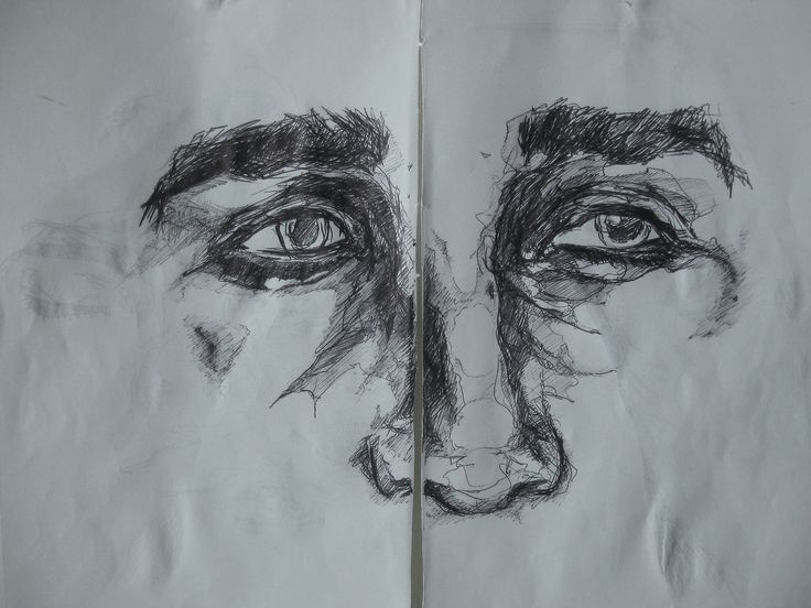 Line Drawing Of Human Face : Best drawing images sketches ideas