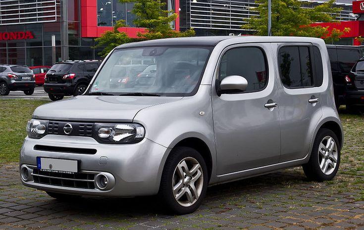 File:Nissan Cube (Z12) – Frontansicht, 25. August 2013, Düsseldorf.jpg