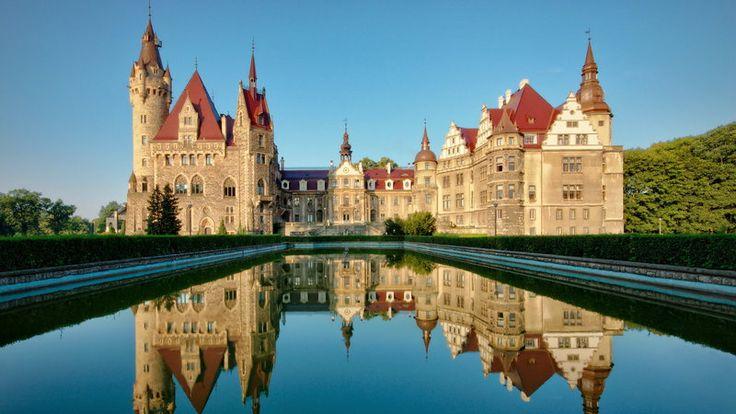 Zamek w Mosznej - zwiedzanie, historia