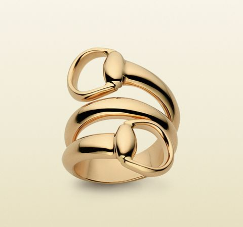 #RocksMyWorld: Golden Rings for Gifting or Receiving - Gucci Horsebit Ring…