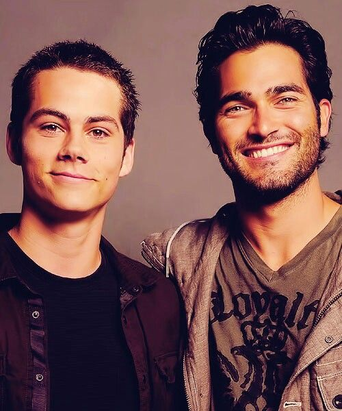 Dylan O'Brien and Tyler Hoechlin. Have I pinned this? Cause I mean, hello?