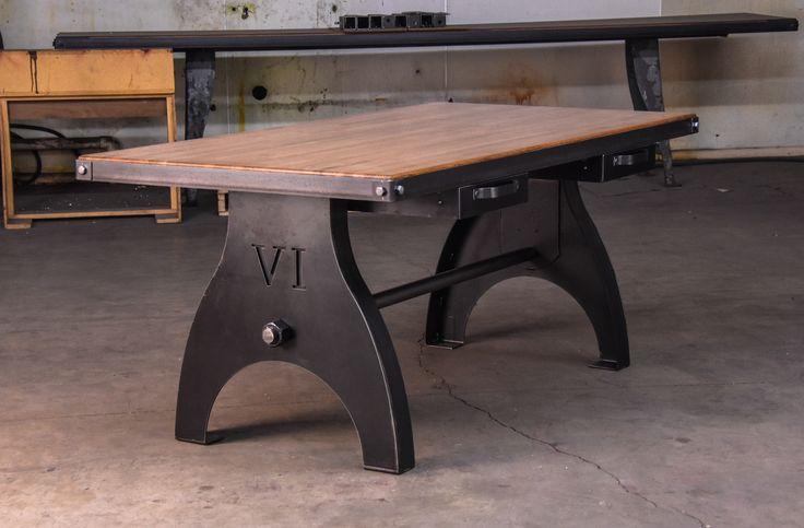 Mejores 403 im genes de vintage industrial dining tables for Comedor industrial