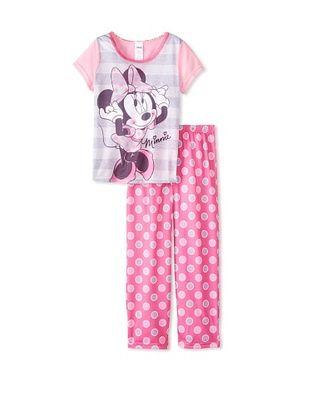53% OFF Kid's Minnie Mouse 2-Piece Pajama Set (Pink Dot)