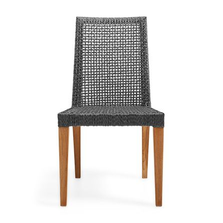thoughtfully crafted by furniture artisans our willow dining chair adds a stylish element to either indoor or outdoor seating. its parsons style is cr