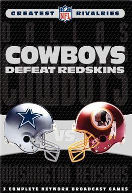 NFL Greatest Rivalries: Dallas Cowboys vs. Washington Redskins (Cowboys Defeat Redskins) - $27.00