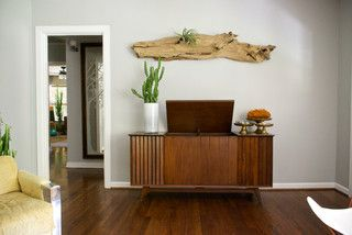 Dallas, TX: Bri and Trey Denton - Eclectic - Living Room - dallas - by Hilary Walker