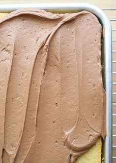 Fluffy, Creamy, Not-Too-Sweet, Absolutely Perfect Chocolate Buttercream Frosting recipe