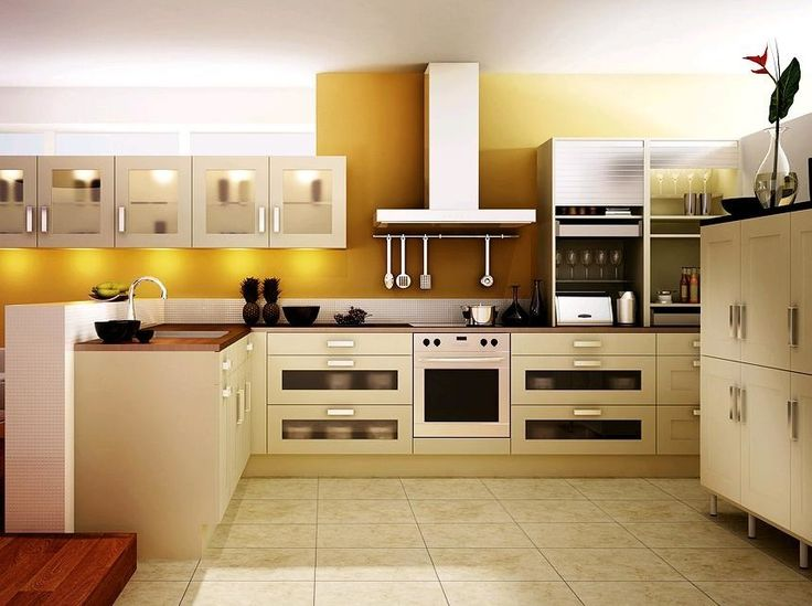 A good kitchen design is a design that does not only allow more than one person to work comfortably at the same time.