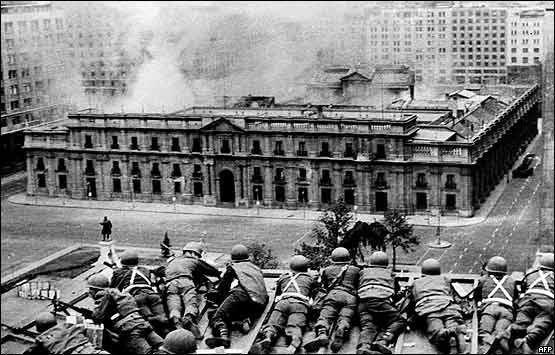 Uncovering Britain's secret role in protecting Chile's 1973 coup