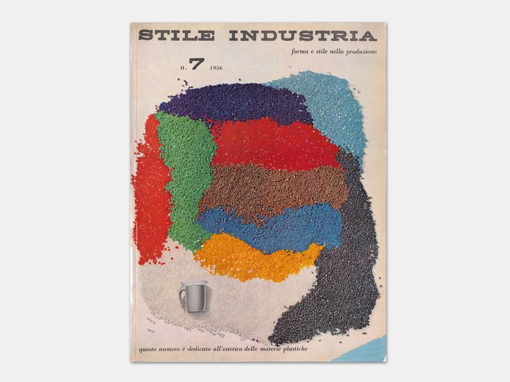 Michele Provinciali - Stile Industria Industrial Design, Graphic Art, Packaging, No. 7, July 1956