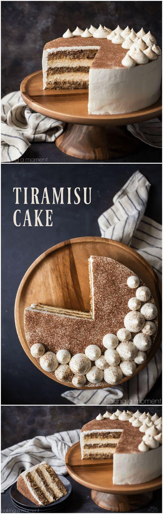 Tiramisu Kuchen   – Recettes