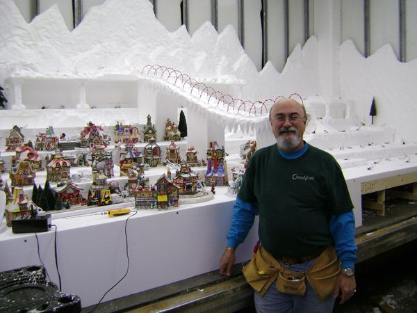 Christmas Village Display Tips   Make Magic in Your Village This Year. Learn to Landscape Like the Pros ...