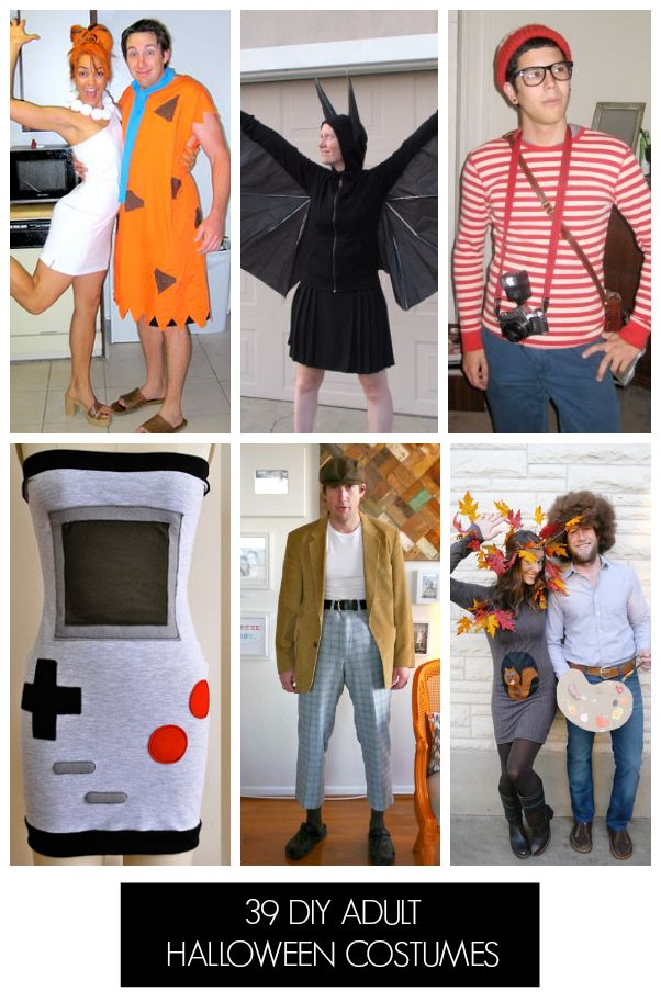 Tons of homemade halloween costumes for adults!
