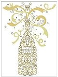 Champagne - Cross Stitch Pattern