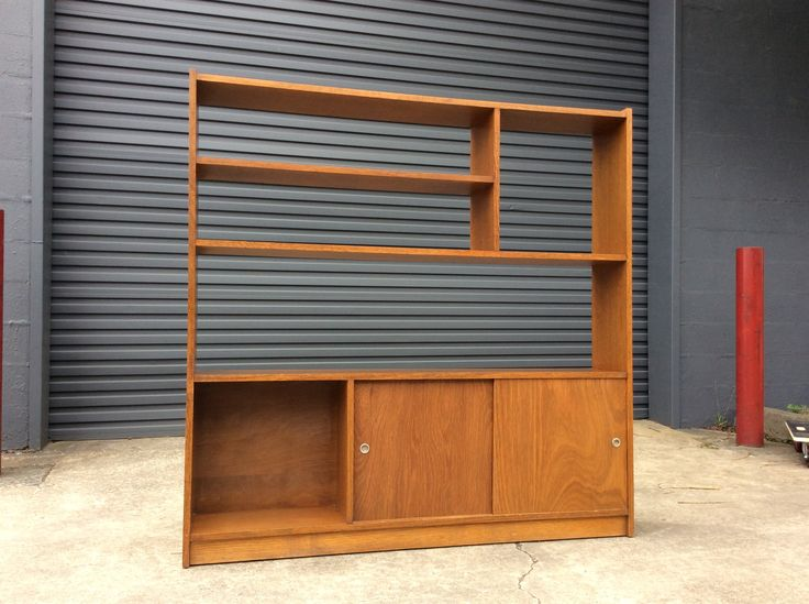 Mid Century SOLID Kauri ROOM DIVIDER Retro Bookshelf - 1 of 2. Rock Solid and for THE Mid Century Enthusiast - Very trendy for the bedroom, living room, entry or dining area. The epitome of rare Australian Mid Century furniture.  | Gumtree / eBay!