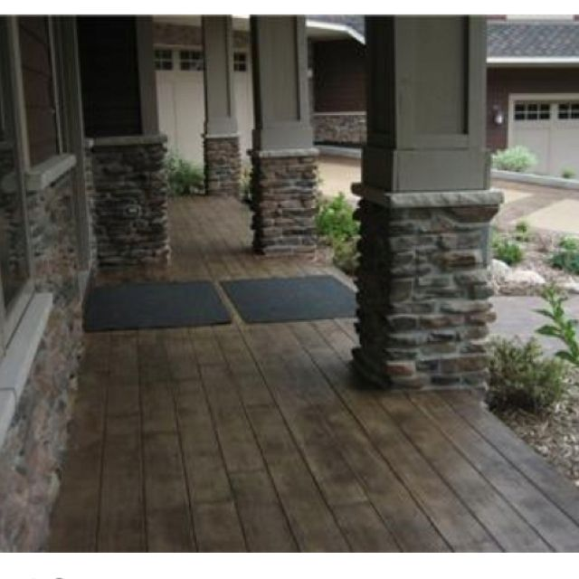 Ideas For Old Cement Patio: 197 Best Images About Curb APPEAL On Pinterest