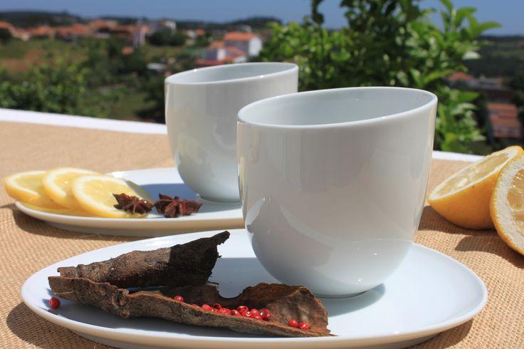 Porcelana ❀ Conjunto Ice - Requintado e elegante conjunto em porcelana. Lindo acessório para o seu pequeno almoço ou lanche! Inspired by Lemon