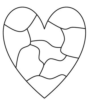 Writing Heart Map - What is in the character's heart? What is in your heart?